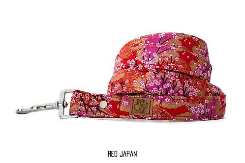 """Laisse """"Rouge Japonais"""""""