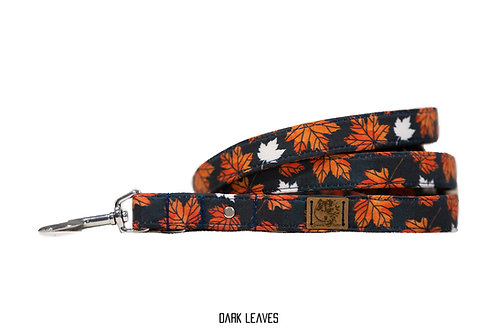 """Laisse """"Dark leaves"""""""