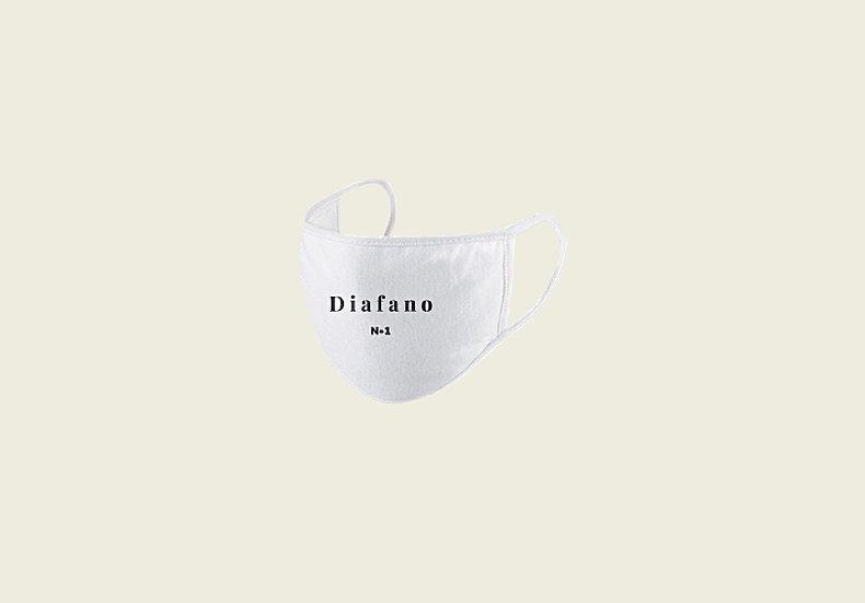 Masque de visage «Diafano» blanc
