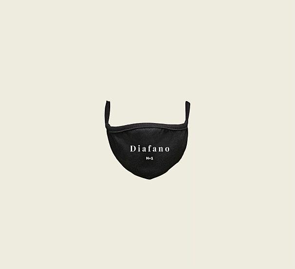 Masque de visage «Diafano» noir