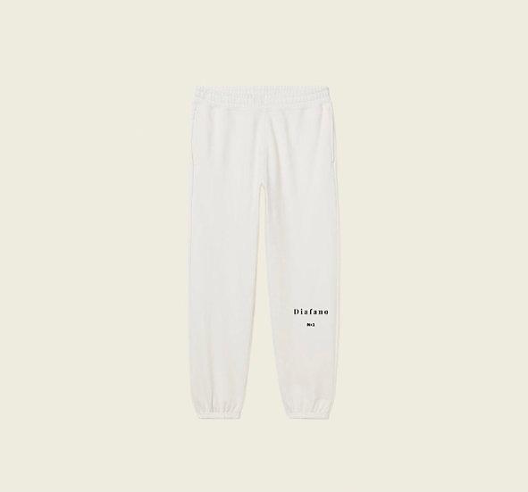 Pantalon de survêtement crème