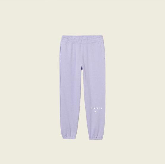 Pantalon de survêtement lilas