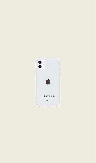 Coque transparente «Diafano» pour smartphone