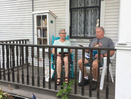 Porch Life, June Minutes, & July Events