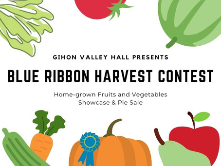 Blue Ribbon Harvest Contest