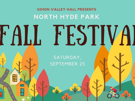 Fall Fest is Coming (and Other news)
