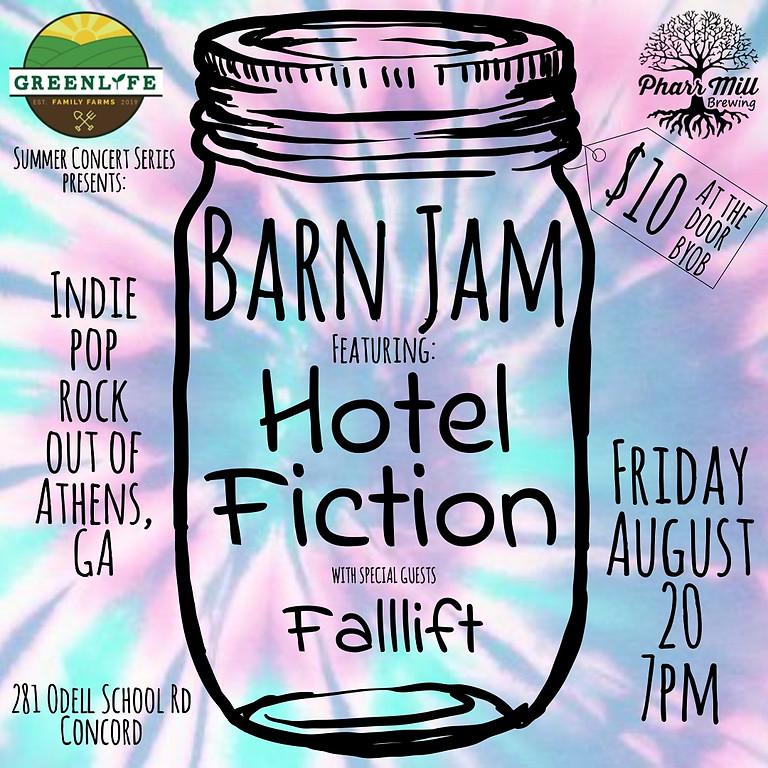 Barn Jam featuring Hotel Fiction