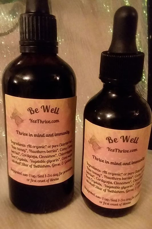 Be Well Tincture 2oz
