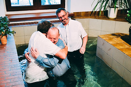 Baptism at the International Church of Wroclaw