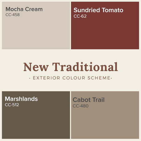Exterior Colour Schemes