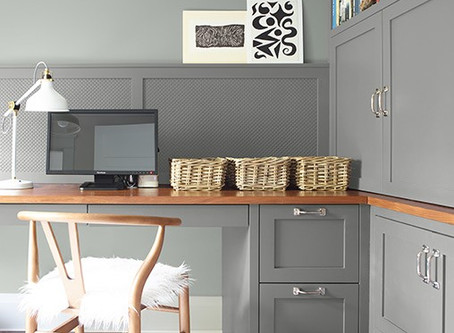 Designating office space in a Great Room