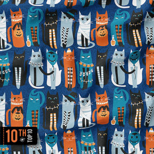 High Gothic Halloween Cats