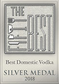 Best Domestic Vodka Silver Medal 2018
