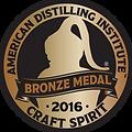 American Distilling Insitute Bronze Medal 2016
