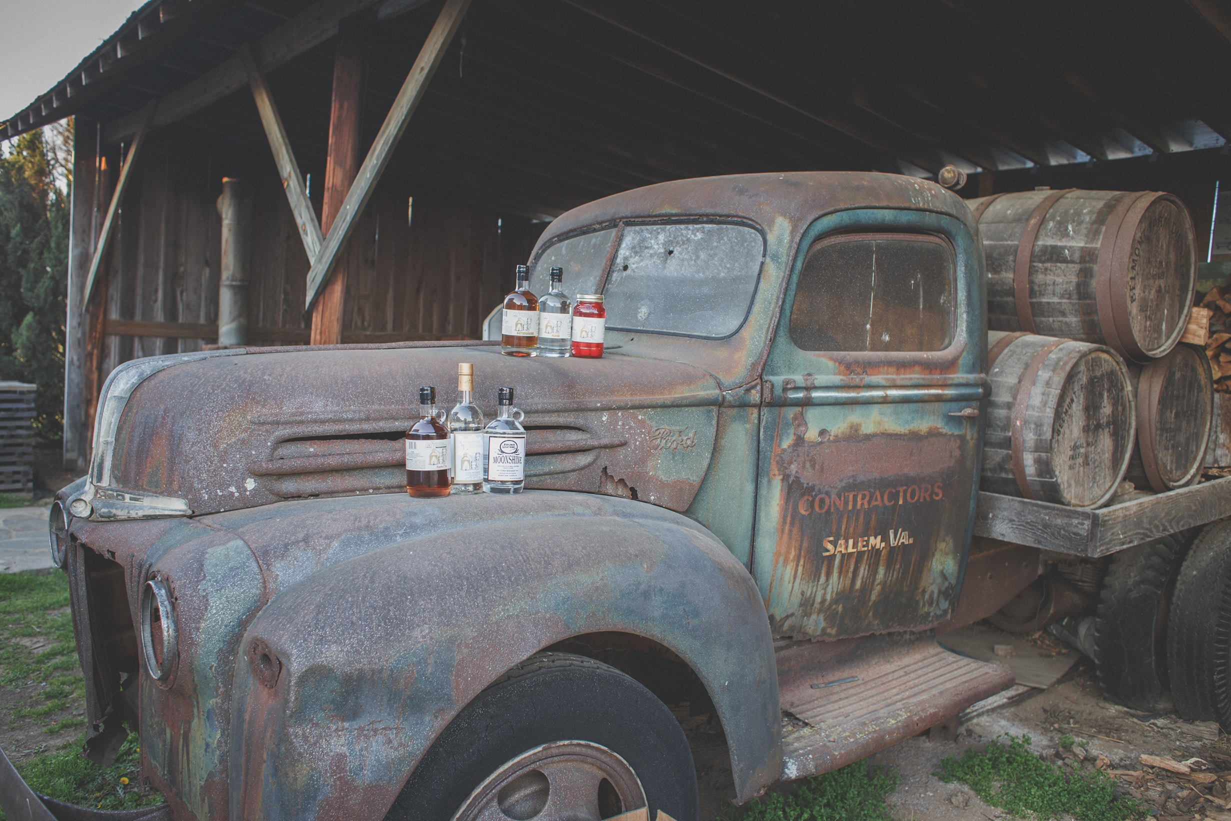 Moonshine and Truck