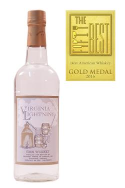 Virginia Lightning Corn Whiskey