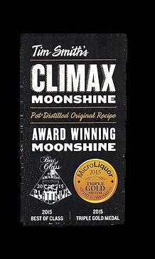 Award Winning Moonshine. Best of Class 2015. Triple Gold 2015.