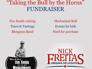 """1st Annual """"Taking the Bull by the Horns"""" Fundraiser"""