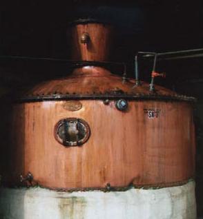 Copper Pot still