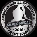 American Distilling Insitute Silver Medal 2016