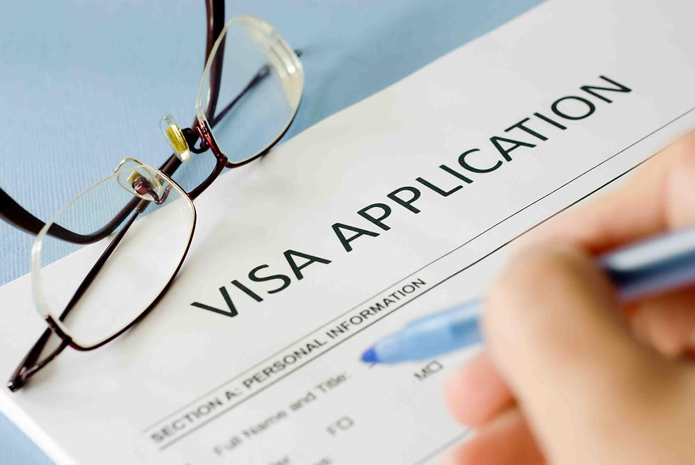 formulario visa shenguen
