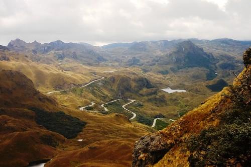 National Park El Cajas