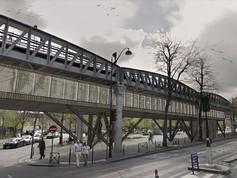 """Gillier Armand, Vizzari Grégoire,  projet """"Un centre pour sans-abris"""", ENSA Paris -Val de Seine"""