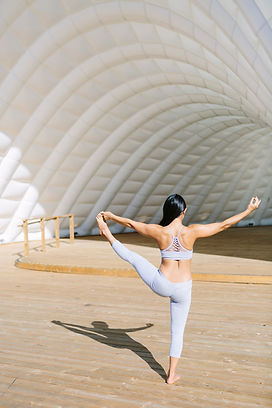 Melissa Tung Corporate Yoga - Big Toe Pose