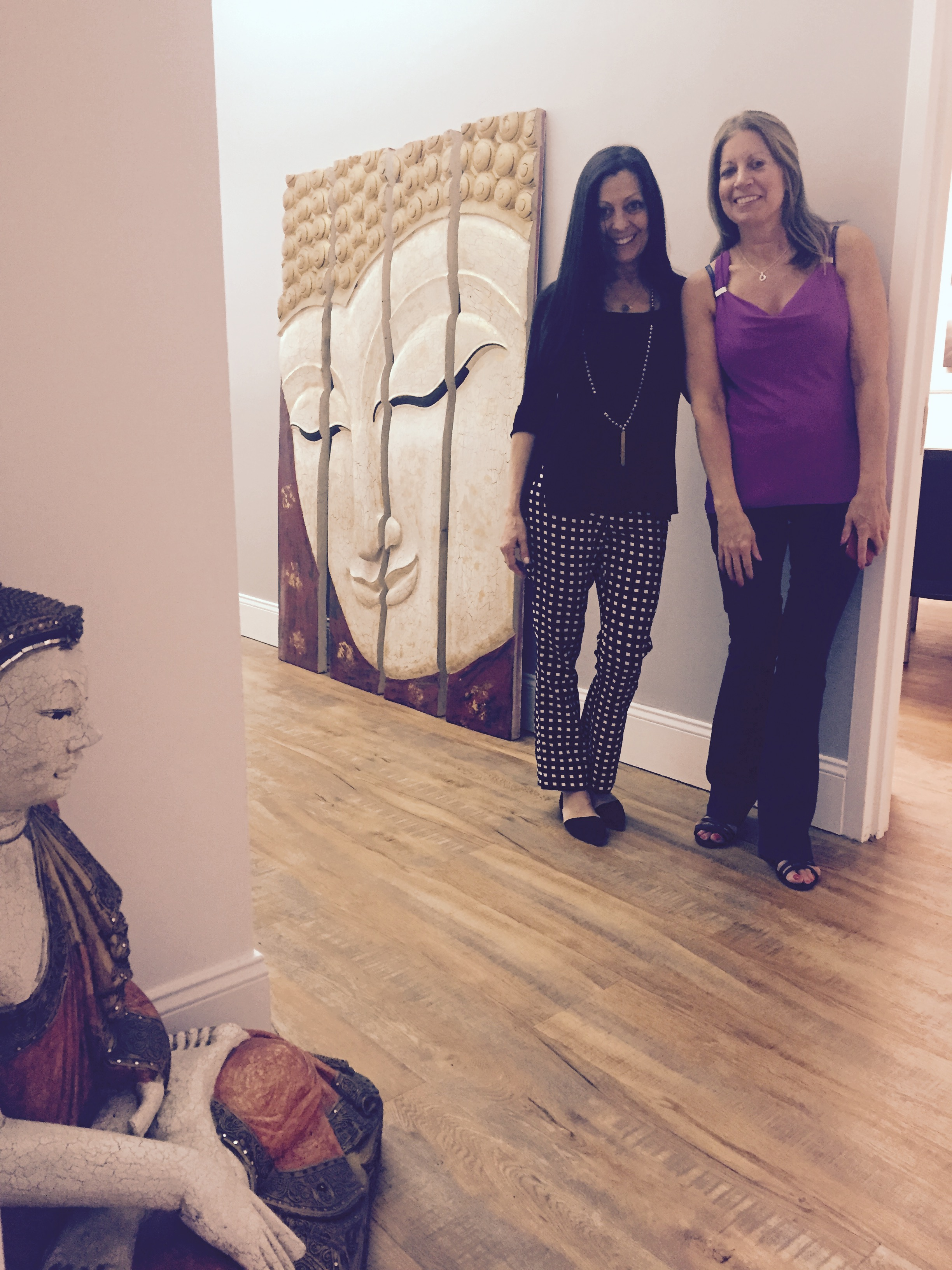 Satya & I