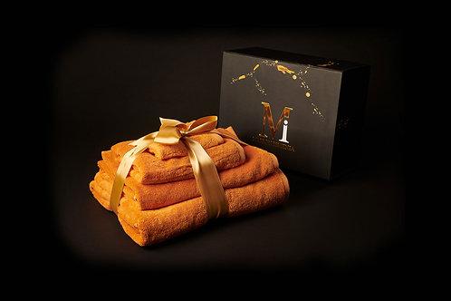 Earthy Cognac Towel Set