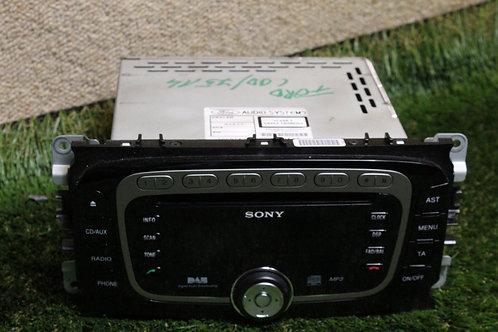 Ford MONDEO TITANIUM X 2007-2014 8S7T-18C939-FC Radio Head Unit + CODE
