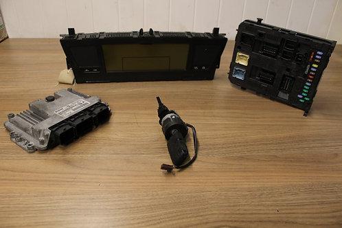 Citroen C4 GRAND PICASSO 1.6 HDi ECU kit 2008