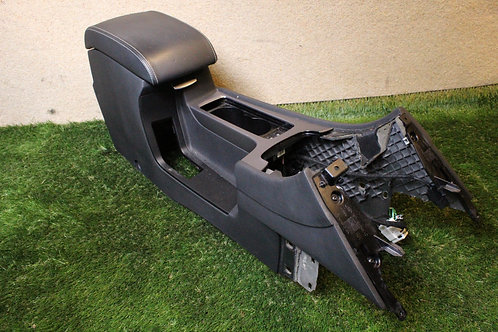 Ford MONDEO MK4 07-14 FRONT CENTRE CONSOLE ARM REST CUP HOLDER BLACK