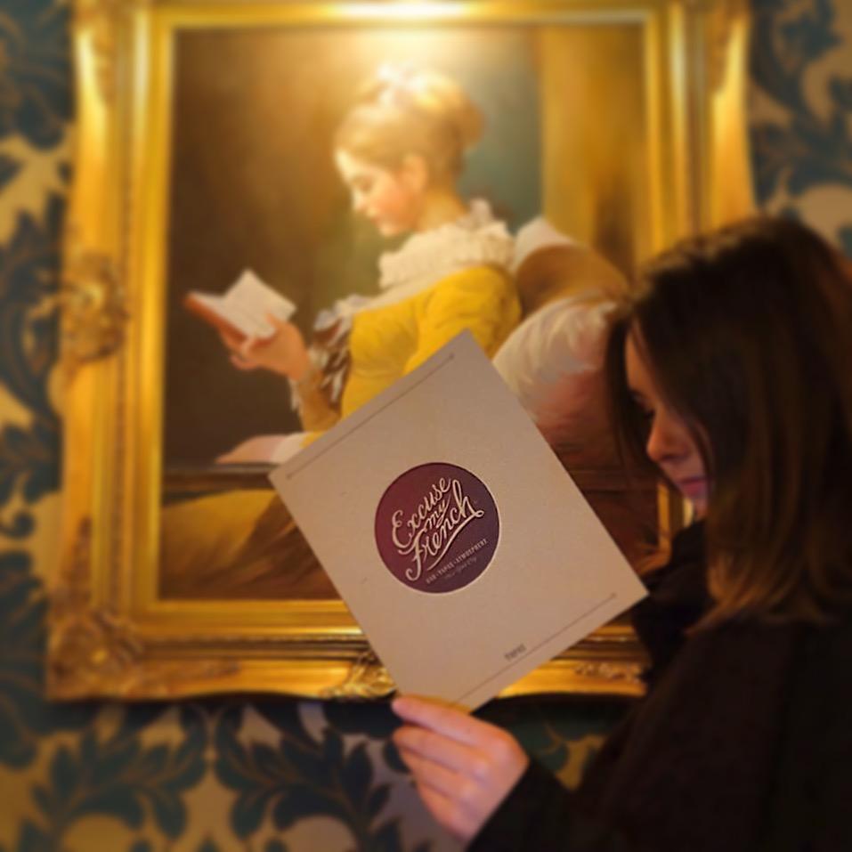 A Young Girl Reading - Fragonard
