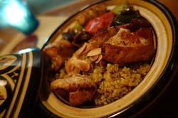 Cajun Chicken Tagine & Ratatouille