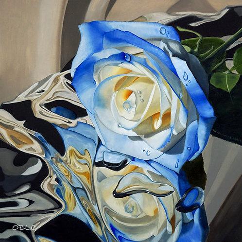 Bathing Bluety - Original Oil Painting