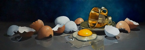 Egg Cup - Original Oil Painting