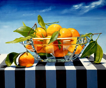 Mandarins At High Noon - Ltd Edition Print
