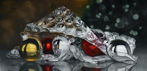 Baubles & Bubbles - Original Oil Painting