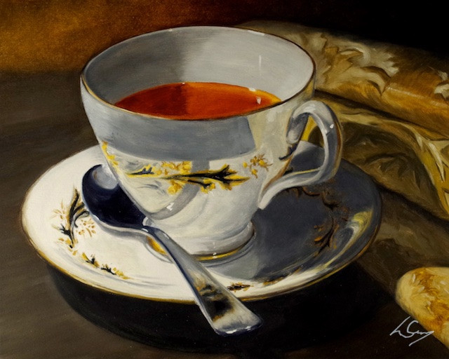 "Teacup still life - ""Fancy A Cup?"""