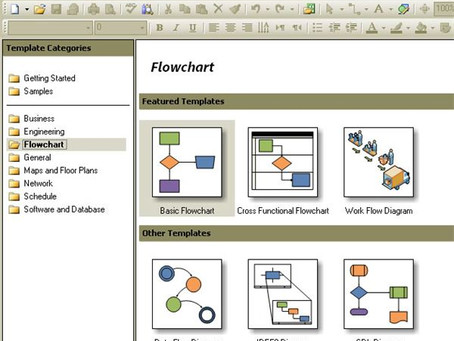 How to create Processing Maps in Visio. Step by step guide.