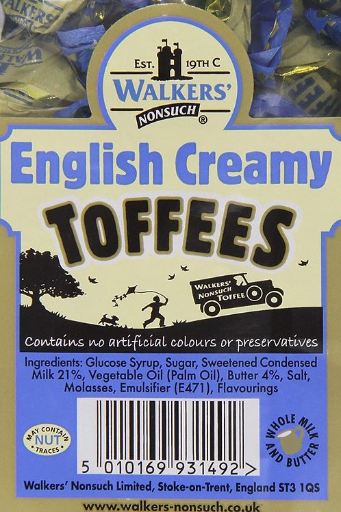 Walkers Toffees English Creamy