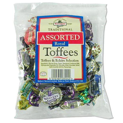 Walkers Toffees Assorted