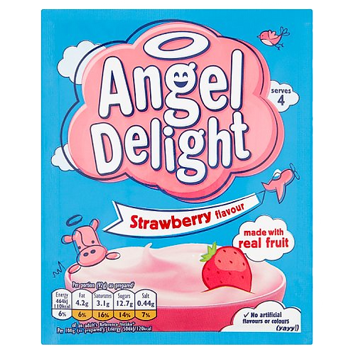 Bird's Angel Delight Strawberry