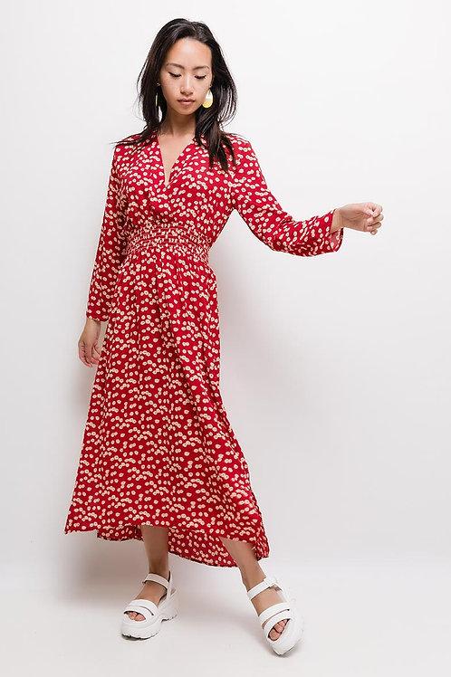 שמלה פרחונית קלילה