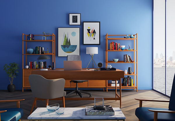 brown-wooden-desk-with-rolling-chair-and