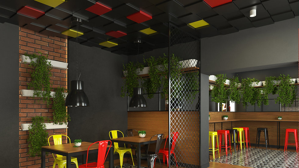 New Wall Baten - kolor Czarny 1m2