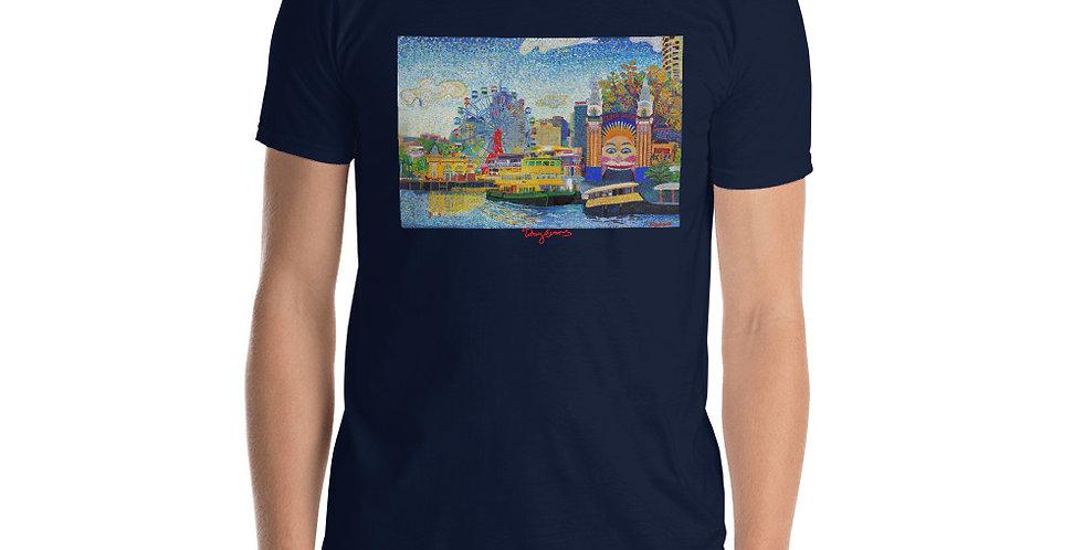 Luna park Short-Sleeve Gildan  Unisex T-Shirt