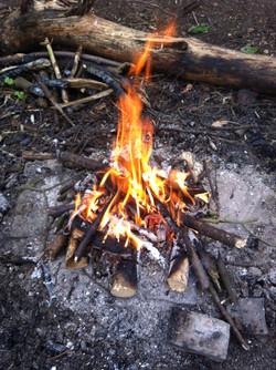 Build a Bushcraft Campfire!