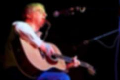 Larry Kaplan performs his original folk music